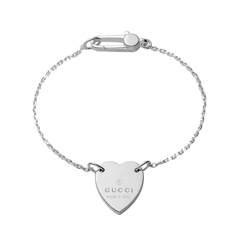 bracciale-donna-gucci-trademark-cuore-argento