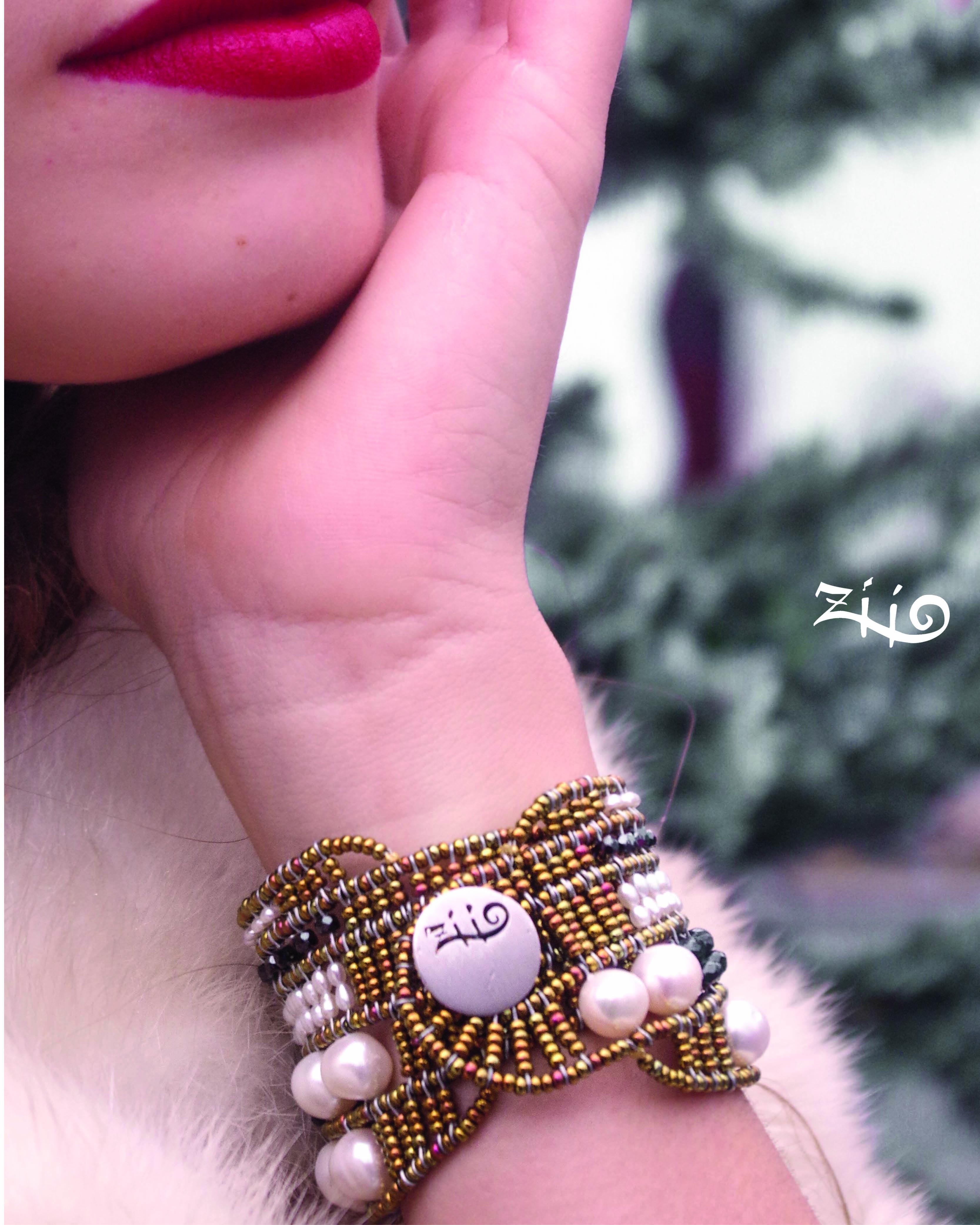 Ziio-Jewels-Christmas 2019-2-Bracelet-monocromo-Baroque