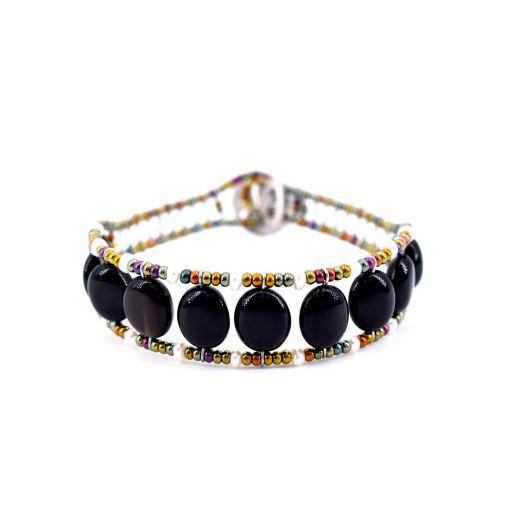 Ziio-jewels - Bracelet Essentiel Black pearl